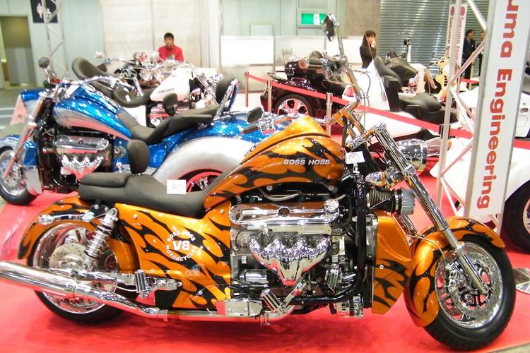 2012 Tokyo Motorcycle Show: day one