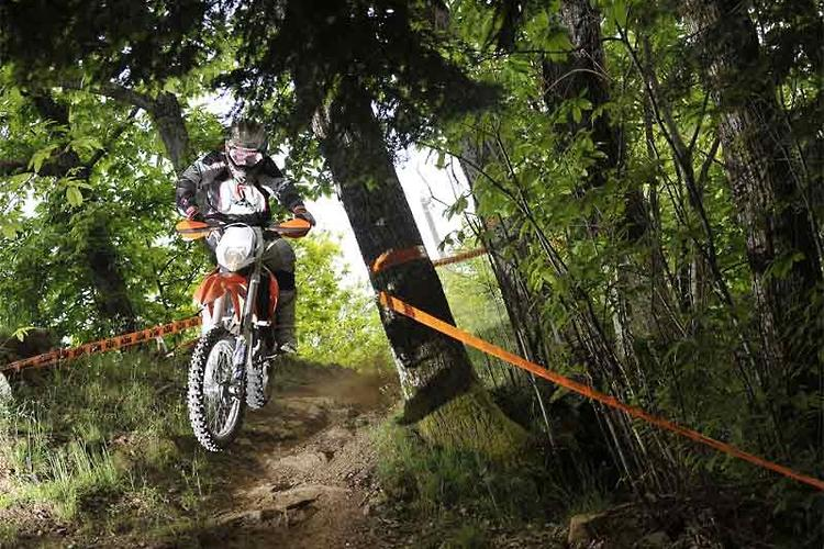 2012 KTM enduro range: launch