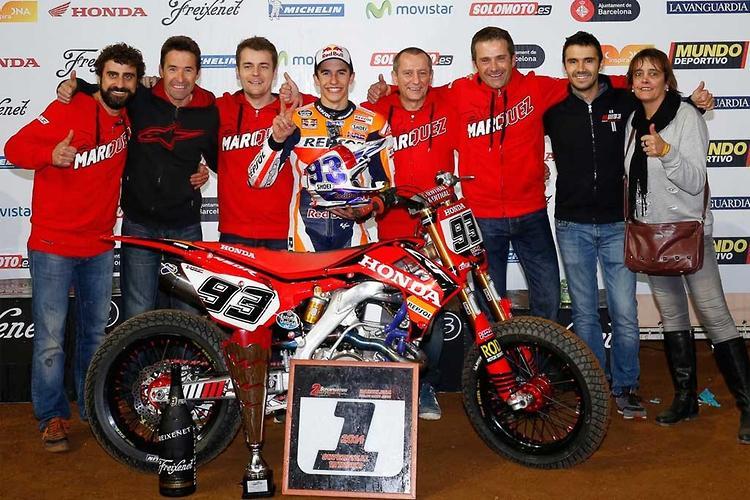 Marquez ends 2014 with Superprestigio win