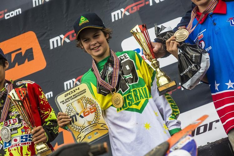 Aussie wins world junior MX!