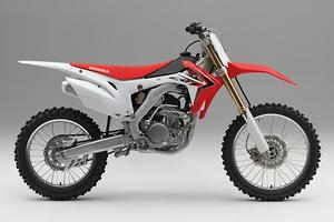2014 Honda CRF250R and CRF450R