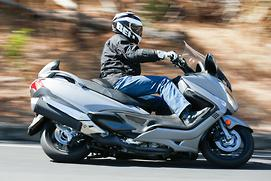First ride: 2014 Suzuki Burgman 650