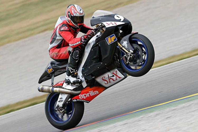Aprilia back in MotoGP