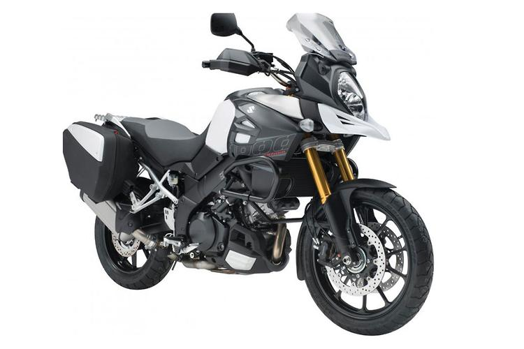 V-Strom 1000 luggage and accessory packs
