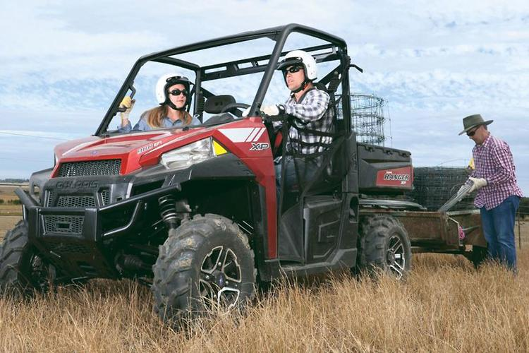 Polaris adds safety features to Rangers