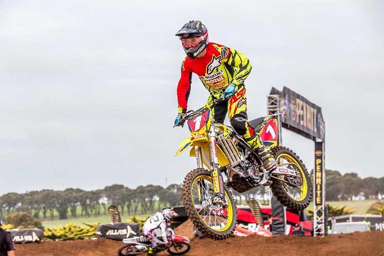 Moss and Faith sweep Oz GP SX events