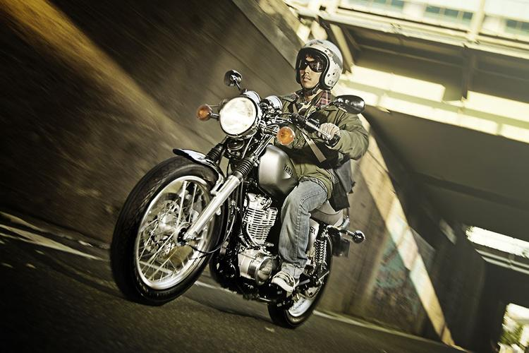 First ride: 2014 Yamaha SR400