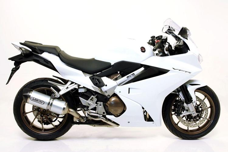 New product: Arrow slip-on exhausts for Honda VFR800