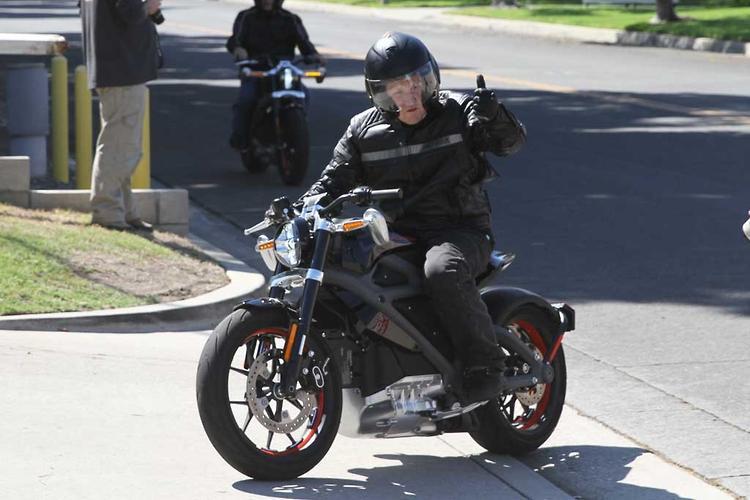 First ride: Harley-Davidson electric bike