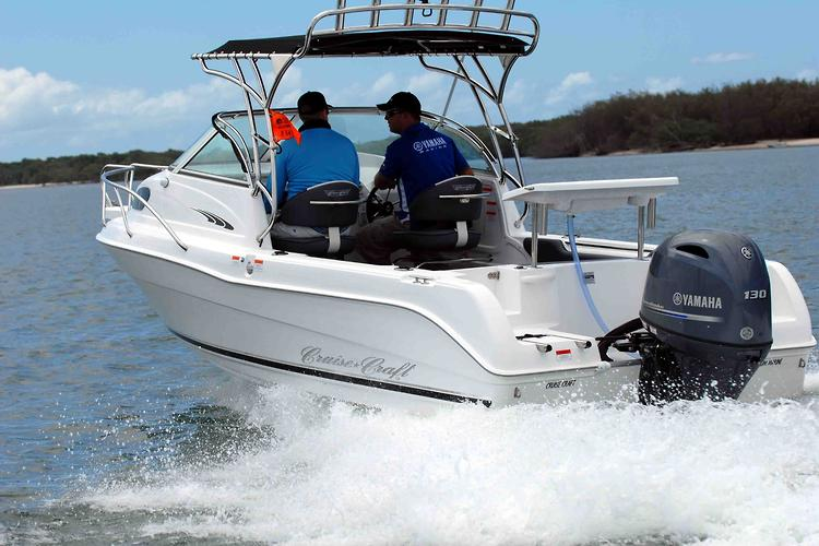 Cruise Craft 575 Explorer with Yamaha F130