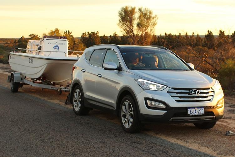 Tow Test: Hyundai Santa Fe 2014