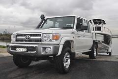 Tow Test: Toyota LandCruiser 79 Series Double-Cab ute