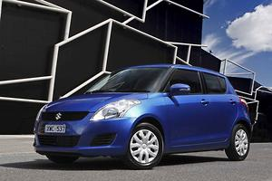 Added equipment for upgraded Suzuki Swift