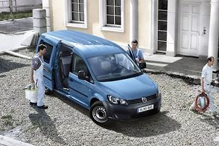 Volkswagen grows Caddy Maxi van range