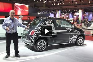 PARIS MOTOR SHOW: Fiat 500 Couture