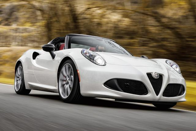 Alfa Romeo 4C Spider 2015 Review