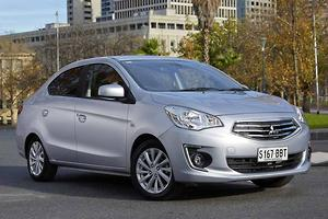 Mitsubishi Mirage sedan arrives in Oz