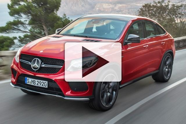 Mercedes-Benz GLE Coupe 2015: Model...