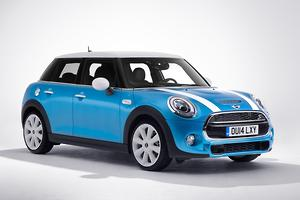 MINI hatch gets five doors