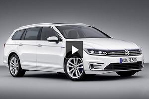 PARIS MOTOR SHOW: Volkswagen Passat GTE