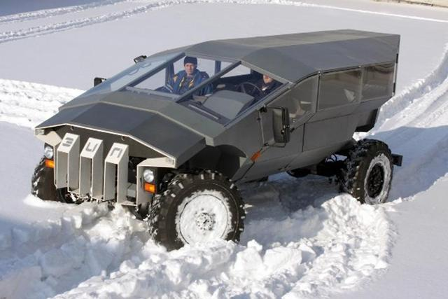 ZiL military vehicle