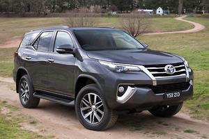 World debut: Toyota unveils Fortuner