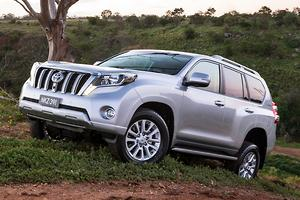 New Toyota Prado in August