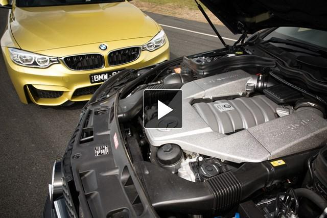 BMW M4 v Mercedes C 63 AMG Coupe: Video...