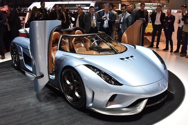 GENEVA MOTOR SHOW: Koenigsegg Regera