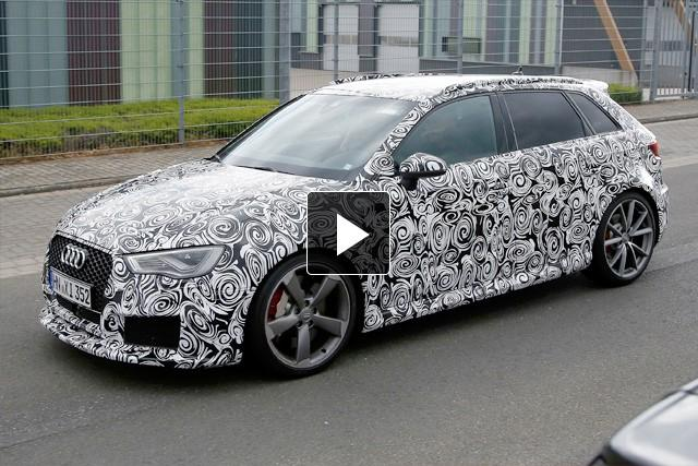 SPY VIDEO: Audi RS3
