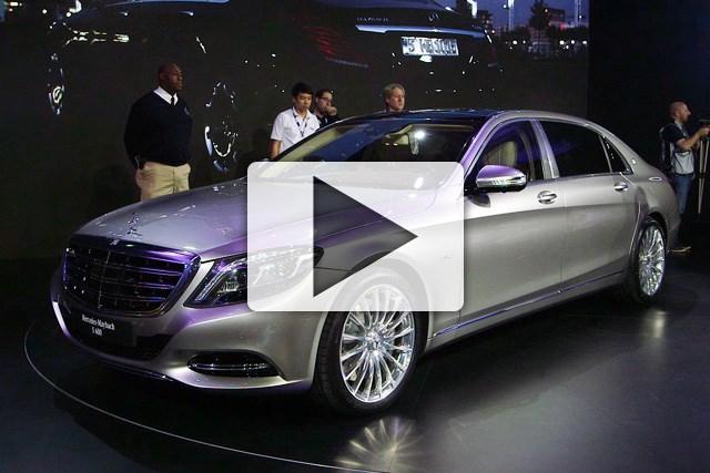 LA MOTOR SHOW: Mercedes-Maybach S600