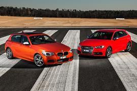 Audi S3 Sportback vs BMW M135i 2014 Comparison