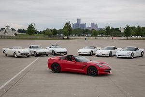 Corvette through the ages