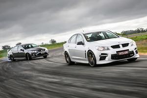 Muscle car masters: FPV GT F v HSV GTS