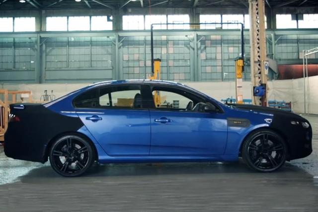 First teaser video: New Ford Falcon XR8