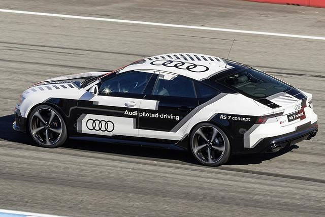 Audi's piloted RS 7 unleashed at...