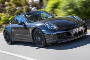 Porsche reveals all-turbo 911