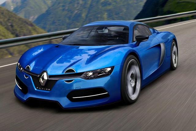 Renault Alpine rendered