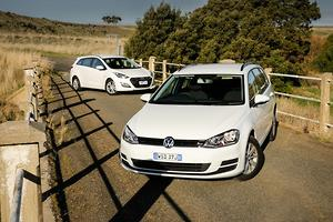 Hyundai i30 Tourer v Volkswagen Golf Wagon 2014 Comparison