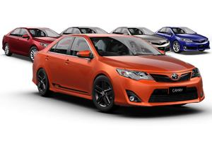 Toyota preps value-added Camry RZ