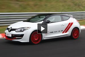 Renault Megane RS 275 Trophy-R: Track Video