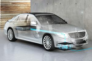 Benz S500 Hybrid plug-in to be wireless