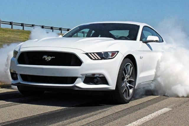 Auto burnouts for 2015 Ford Mustang
