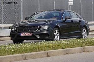 SPY PICS: Mercedes CLS Facelift