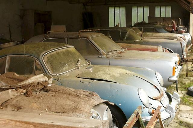 French auction house unearths rare auto...