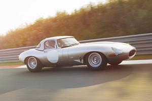 Jaguar reprises lightweight E-type