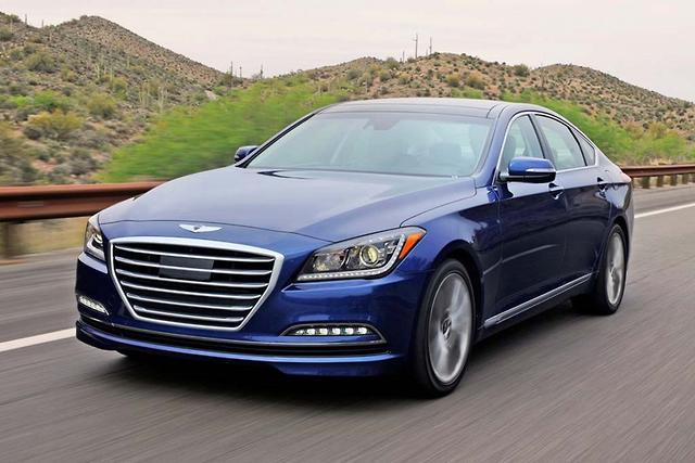 Hyundai Genesis 5.0 2015 Review