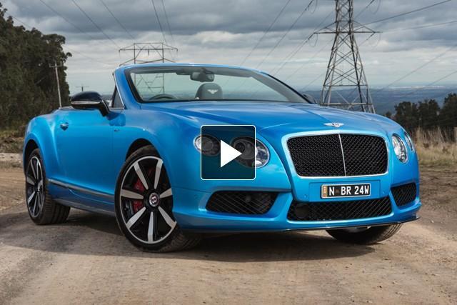Bentley Continental GT V8S 2014: Video...