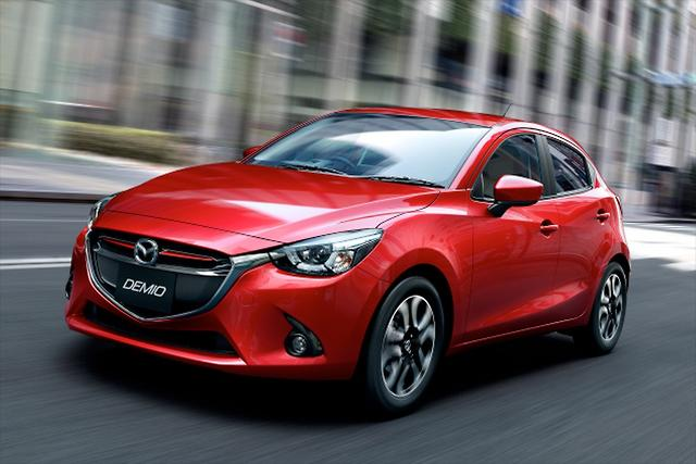 New Mazda2 from Thailand