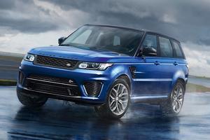 Range Rover Sport SVR revealed